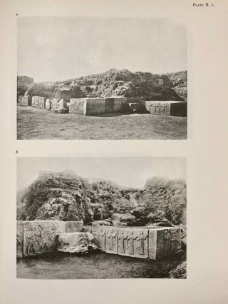 Carchemish. Report on the Excavations at Jerablus on Behalf of the British Museum. Vol. I: Introductory. Vol. II: The town defences. Vol. III: The excavations in the inner town. The Hittite inscriptions (complete set)[newline]M4399e-11.jpg