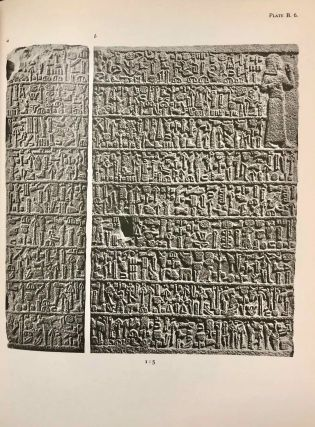 Carchemish. Report on the Excavations at Jerablus on Behalf of the British Museum. Vol. I: Introductory. Vol. II: The town defences. Vol. III: The excavations in the inner town. The Hittite inscriptions (complete set)[newline]M4399e-12.jpg