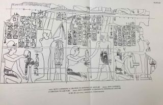 The Great Hypostyle Hall at Karnak. The wall reliefs. Volume I, part 1.[newline]M4450a-15.jpeg