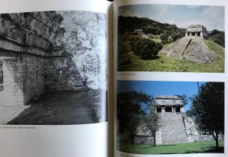 The Sculpture of Palenque. 4 volumes. Volume I: The Temple of the Inscriptions. Volume II: The Early Buildings of the Palace and the Wall Paintings. Volume III: The late Buildings of the Palace. Volume IV: The Cross Group, The North Group, The Olvidado and Other Pieces (complete set)[newline]M4570-09.jpg