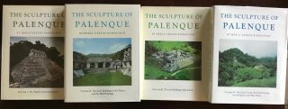 The Sculpture of Palenque. 4 volumes. Volume I: The Temple of the Inscriptions. Volume II: The...[newline]M4570.jpg