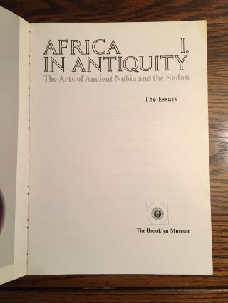 Africa in Antiquity: The Arts of Ancient Nubia and the Sudan. 2 volumes (complete set)[newline]M4625-03.jpg