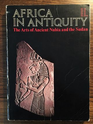 Africa in Antiquity: The Arts of Ancient Nubia and the Sudan. 2 volumes (complete set)[newline]M4625-10.jpg