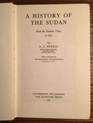 A History of the Sudan from Earliest Times to 1821[newline]M4707-03.jpg