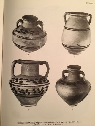Excavations Between Abu Simbel and the Sudan Frontier, Part 8: Meroitic Remains From Qustul Cemetery Q, Ballana Cemetery B, and a Ballana Settlement. 2 volumes: Text & Figures (complete set)[newline]M4719-13.jpg