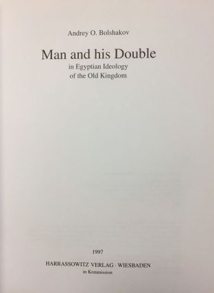 Man and his Double in Egyptian Ideology of the Old Kingdom[newline]M4905-02.jpg