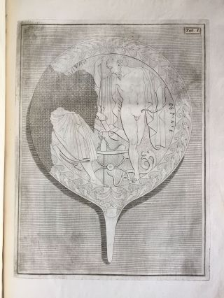 """De pateris antiquorum ex schedis Iacobi Tatii Biancani sermo et epistolae (translation of title: """"About the saucers of the ancients. From the papers of Giacomo Tazzi Biancani. Speech and letters."""")[newline]M5229-09.jpg"""