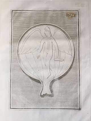"De pateris antiquorum ex schedis Iacobi Tatii Biancani sermo et epistolae (translation of title: ""About the saucers of the ancients. From the papers of Giacomo Tazzi Biancani. Speech and letters."")[newline]M5229-13.jpg"
