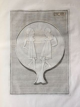 "De pateris antiquorum ex schedis Iacobi Tatii Biancani sermo et epistolae (translation of title: ""About the saucers of the ancients. From the papers of Giacomo Tazzi Biancani. Speech and letters."")[newline]M5229-21.jpg"