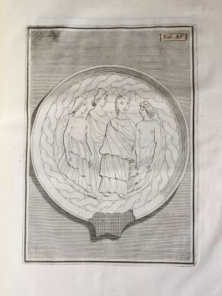 """De pateris antiquorum ex schedis Iacobi Tatii Biancani sermo et epistolae (translation of title: """"About the saucers of the ancients. From the papers of Giacomo Tazzi Biancani. Speech and letters."""")[newline]M5229-23.jpg"""