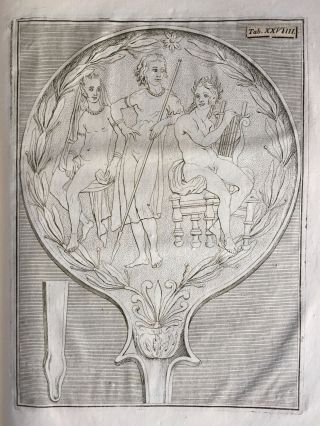 "De pateris antiquorum ex schedis Iacobi Tatii Biancani sermo et epistolae (translation of title: ""About the saucers of the ancients. From the papers of Giacomo Tazzi Biancani. Speech and letters."")[newline]M5229-37.jpg"