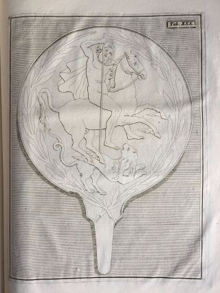 "De pateris antiquorum ex schedis Iacobi Tatii Biancani sermo et epistolae (translation of title: ""About the saucers of the ancients. From the papers of Giacomo Tazzi Biancani. Speech and letters."")[newline]M5229-38.jpg"