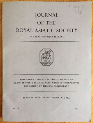 The Journal of the Royal Asiatic Society of Great Britain and Ireland, with which is incorporated...[newline]M5284.jpg