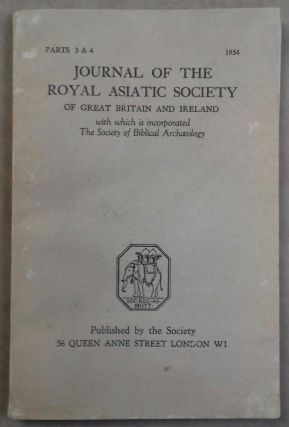 The Journal of the Royal Asiatic Society of Great Britain and Ireland, with which is incorporated...[newline]M5284a.jpg