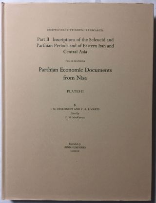 Corpus Inscriptionum Iranicarum. Part II - Inscriptions of the Seleucid and Parthian Periods and of Eastern Iran and Central Asia. Vol II: Parthian. Parthian Economic Documents from Nisa - Plates. 4 volumes (complete set)[newline]M5297-09.jpg