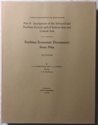 Corpus Inscriptionum Iranicarum. Part II - Inscriptions of the Seleucid and Parthian Periods and of Eastern Iran and Central Asia. Vol II: Parthian. Parthian Economic Documents from Nisa - Plates. 4 volumes (complete set)[newline]M5297-12.jpg