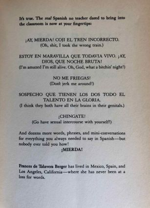 Mierda! [with:} Más mierda! (2 volumes). The real Spanish you were never taught in school + More of the real Spanish you were never taught in school[newline]M5433-01.jpg
