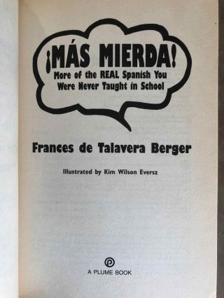 Mierda! [with:} Más mierda! (2 volumes). The real Spanish you were never taught in school + More of the real Spanish you were never taught in school[newline]M5433-11.jpg