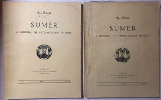 Sumer. A journal of archaeology and history in Iraq. Vol. VI. No 1- 2.