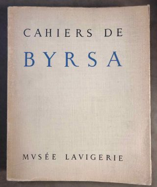 Cahiers de Byrsa, tome IX (1960-1961). AAE - Journal - Single issue[newline]M5612.jpg