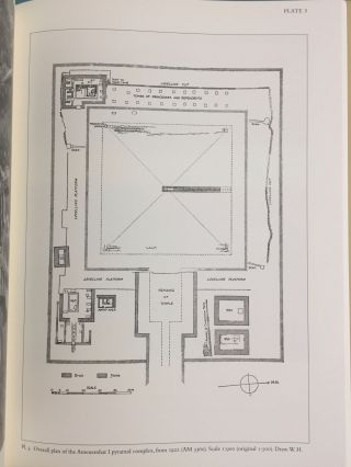 The Pyramid Complex of Amenemhat I at Lisht. Vol. I: The Architecture. Vol. II: The Reliefs (complete set)[newline]M5615-13.jpg