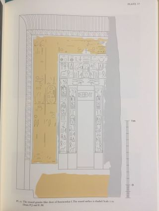 The Pyramid Complex of Amenemhat I at Lisht. Vol. I: The Architecture. Vol. II: The Reliefs (complete set)[newline]M5615-15.jpg