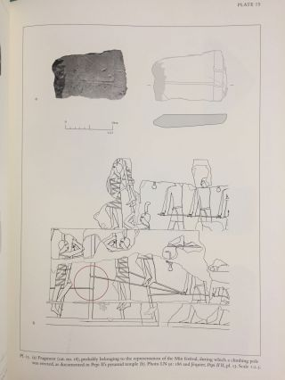 The Pyramid Complex of Amenemhat I at Lisht. Vol. I: The Architecture. Vol. II: The Reliefs (complete set)[newline]M5615-34.jpg