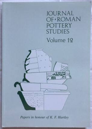 Journal of Roman Pottery Studies. Volume 12. AAE - Journal - Single issue[newline]M5828.jpg