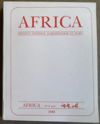 Africa. Fouilles, monuments et collections archéologiques en Tunisie. Tome X. AAE - Journal -...[newline]M5905.jpg