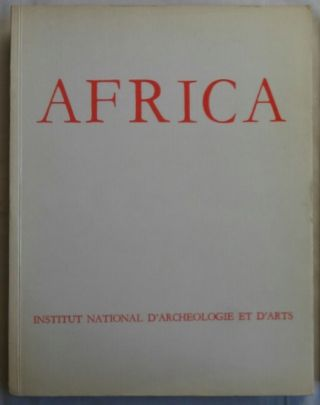 Africa. Fouilles, monuments et collections archéologiques en Tunisie. Tome II. 1967-1968. AAE -...[newline]M5906.jpg