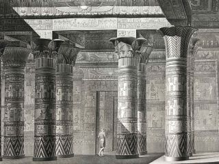 Description de l'Egypte. Ou Recueil des observations et des recherches qui ont été faites en Egypte pendant l'expédition de l'armée française. 2nd edition, complete in 26 volumes of text and 12 volumes of plates.[newline]M5946a-1031.jpg