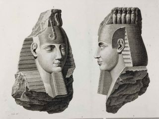 Description de l'Egypte. Ou Recueil des observations et des recherches qui ont été faites en Egypte pendant l'expédition de l'armée française. 2nd edition, complete in 26 volumes of text and 12 volumes of plates.[newline]M5946a-1170.jpg