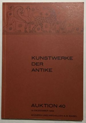 Kunstwerke der Antike. Auktion 40. Antike geschnittene Steine, griechische Vasen, Bronzen, Terrakotten, Bildwerke in Stein. AAC - Catalogue auction.[newline]M6098.jpg