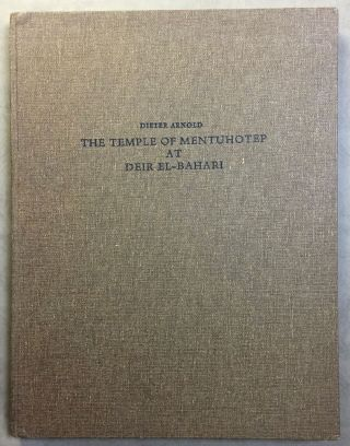 The Temple of Mentuhotep at Deir El-Bahari. ARNOLD Dieter[newline]M6133.jpg
