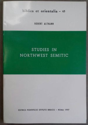 Studies in Northwest Semitic. ALTHANN Robert[newline]M6358.jpg
