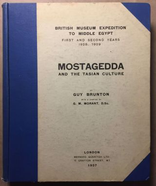 Mostagedda and the Tasian culture. British museum expedition to Middle Egypt. First and second...[newline]M6457.jpg