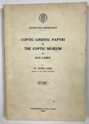 Coptic gnostic papyri in the Coptic Museum at Old Cairo. Vol. 1 (all published). LABIB Pahor Cladios[newline]M6576.jpeg