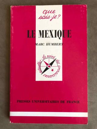 Le Mexique. HUMBERT Marc.[newline]M6672.jpg