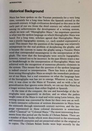 Maya for Travelers and Students. A Guide to Language and Culture in Yucatan.[newline]M6676-03.jpg