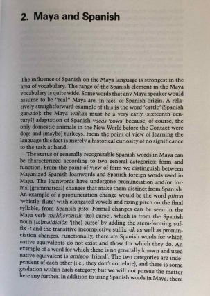 Maya for Travelers and Students. A Guide to Language and Culture in Yucatan.[newline]M6676-06.jpg