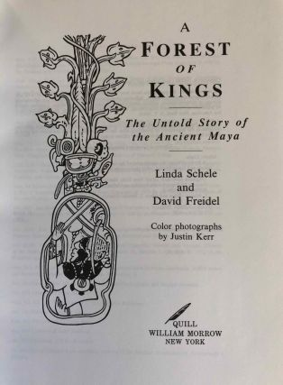 A Forest of Kings. The untold story of the Ancient Mayas.[newline]M6680-01.jpg