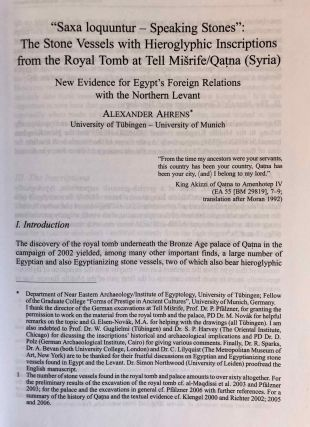 Studia Aegyptiaca XVIII (2007). Proceedings of the Fourth Central European Conference of Young Egyptologists 31 August - 2 September 2006.[newline]M6811a-06.jpg