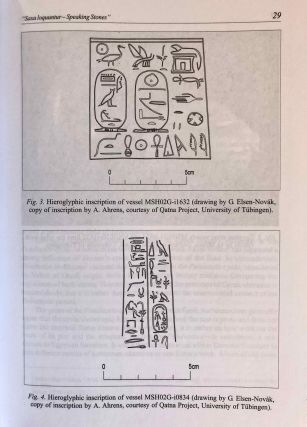 Studia Aegyptiaca XVIII (2007). Proceedings of the Fourth Central European Conference of Young Egyptologists 31 August - 2 September 2006.[newline]M6811a-07.jpg
