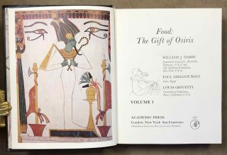 Food: the gift of Osiris, 2 volumes (complete set). DARBY William J. - GHALIOUNGUI Paul -...[newline]M6821d.jpeg