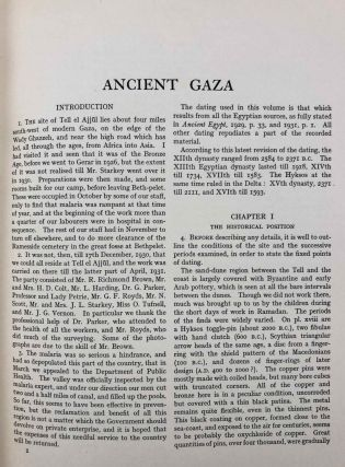 Ancient Gaza. Vol. I, II, III & IV.[newline]M6931b-05.jpg
