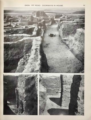 Ancient Gaza. Vol. I, II, III & IV.[newline]M6931b-09.jpg