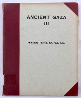 Ancient Gaza. Vol. I, II, III & IV.[newline]M6931b-20.jpg