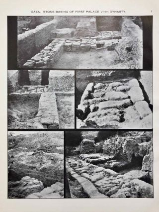 Ancient Gaza. Vol. I, II, III & IV.[newline]M6931b-21.jpg