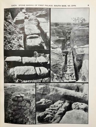 Ancient Gaza. Vol. I, II, III & IV.[newline]M6931b-25.jpg
