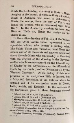 Texts relating to Saint Mêna of Egypt and canons of Nicaea in a Nubian dialect, with facsimile[newline]M6951a-24.jpg